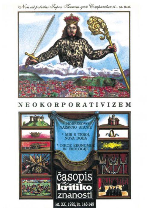 Igor Pribac,et al.: Neokorporativizem