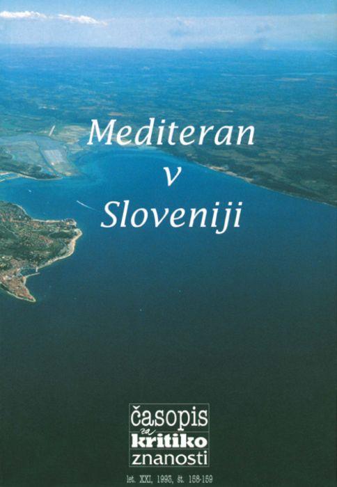 Boja Baskar,et al.: Mediteran v Sloveniji