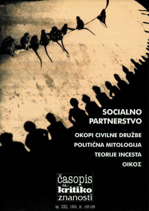 Darij Zadnikar,et al.: Socialno partnerstvo