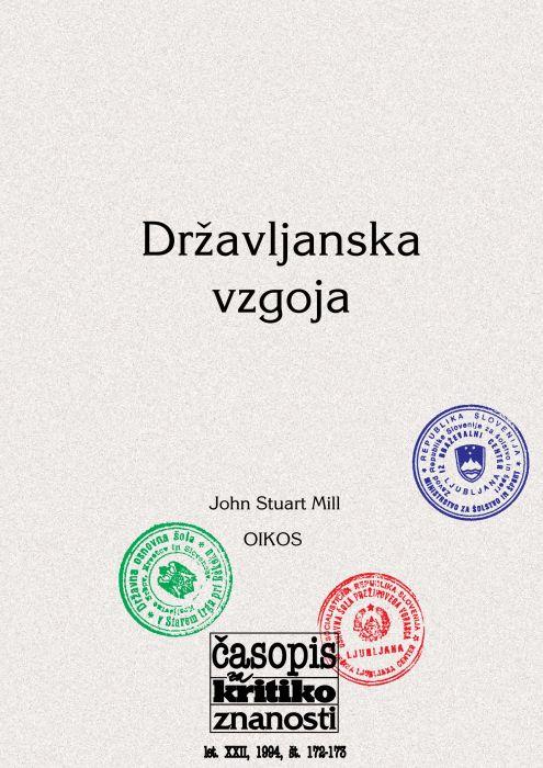 Darij Zadnikar,et al.: Državljanska vzgoja