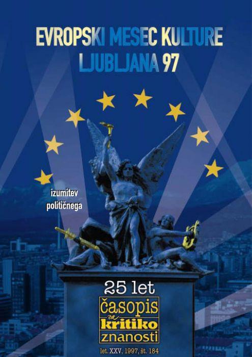 Darij Zadnikar,et al.: Evropski mesec kulture: Ljubljana 97