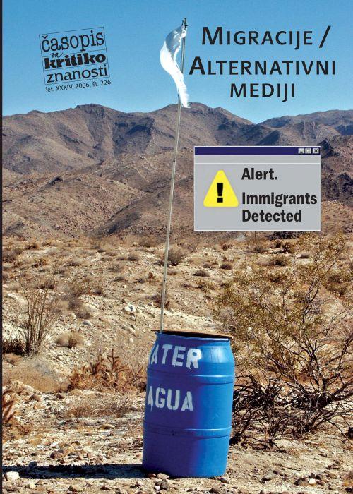 Darij Zadnikar,et al.: Migracije/alternativni mediji