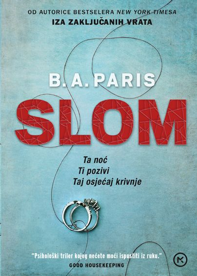 B. A. Paris: Slom