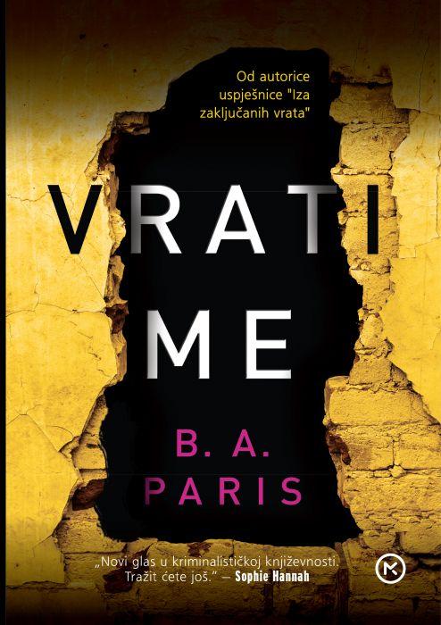 B.A. Paris: Vrati me