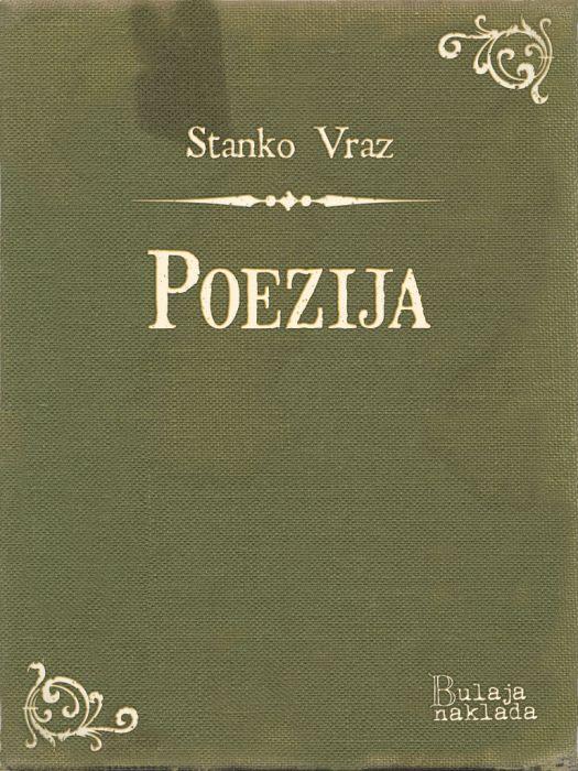 Stanko Vraz: Poezija