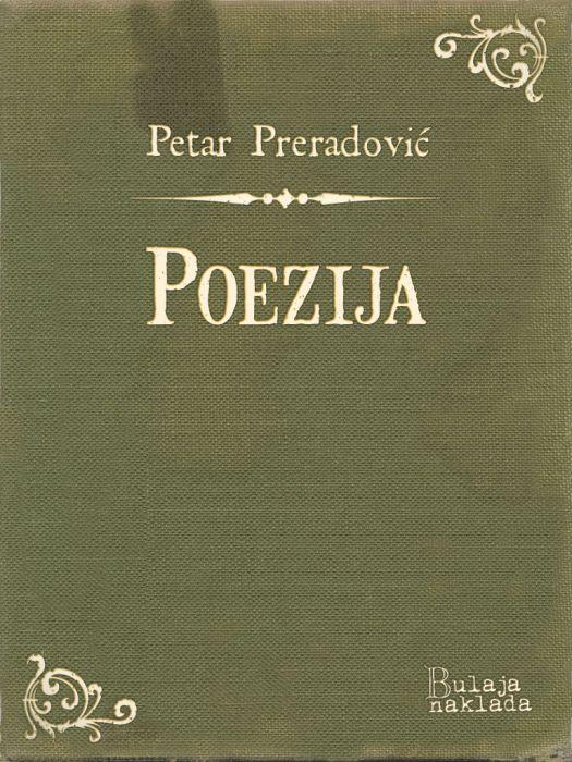 Petar Preradović: Poezija