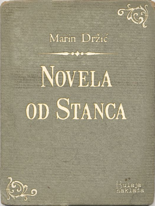 Marin Držić: Novela od Stanca