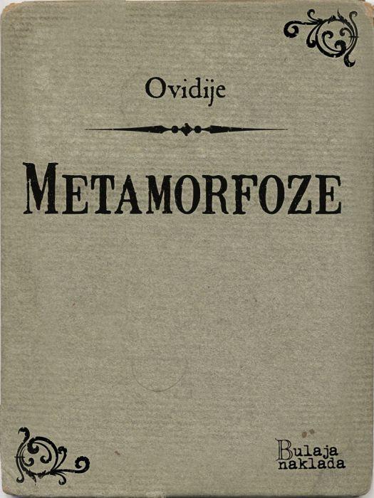Ovidije: Metamorfoze