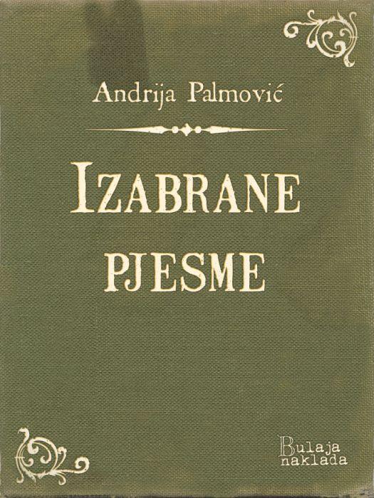Andrija Palmović: Izabrane pjesme