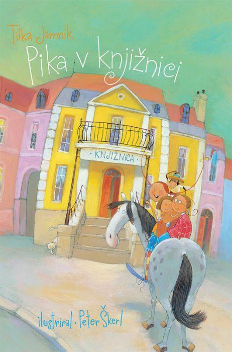 Tilka Jamnik: Pika v knjižnici
