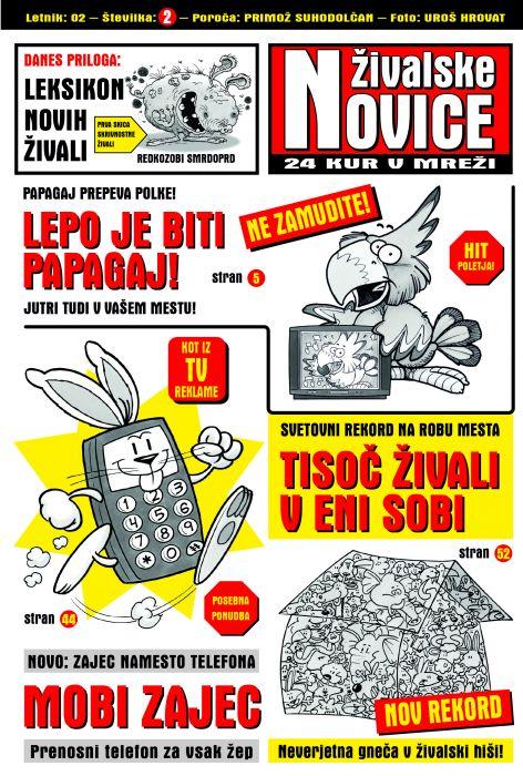 Primož Suhodolčan: Živalske novice 2