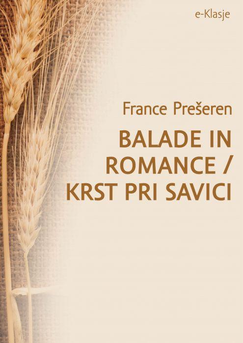 France Prešeren: Balade in romance/Krst pri Savici