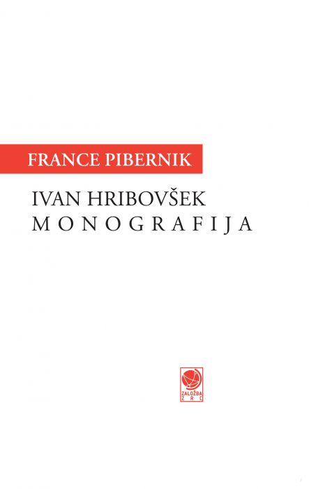 France Pibernik: Ivan Hribovšek