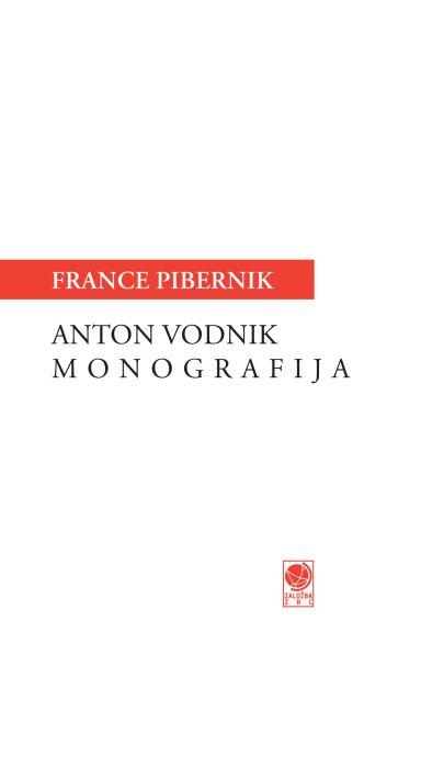 France Pibernik: Anton Vodnik