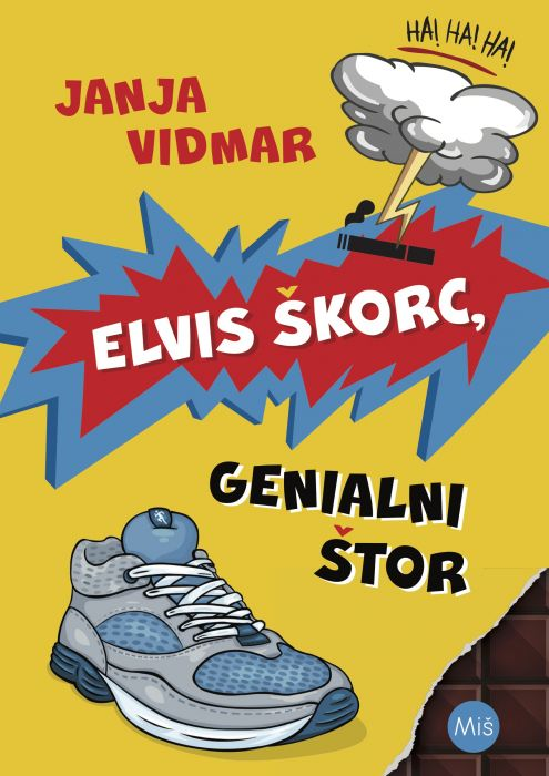 Janja Vidmar: Elvis Škorc, genialni štor