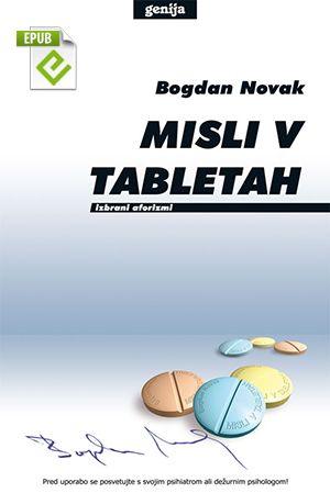 Bogdan Novak: Misli v tabletah