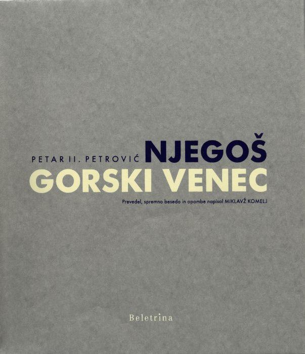 Petar II. Petrović Njegoš: Gorski venec