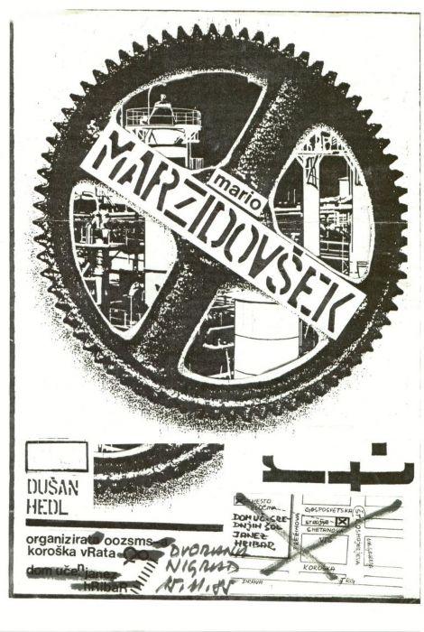 Dušan Hedl: Mario Marzidovšek