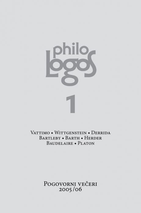Gorazd Kocijančič in Vid Snoj: Philologos 1