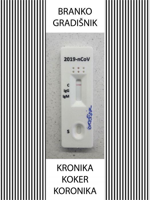 Branko Gradišnik: Kronika koker koronika