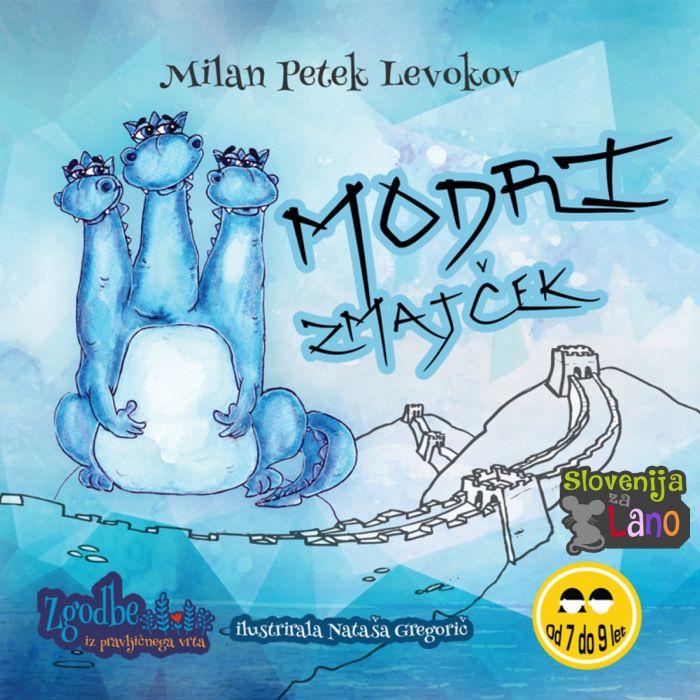 Milan Petek Levokov: Modri zmajček