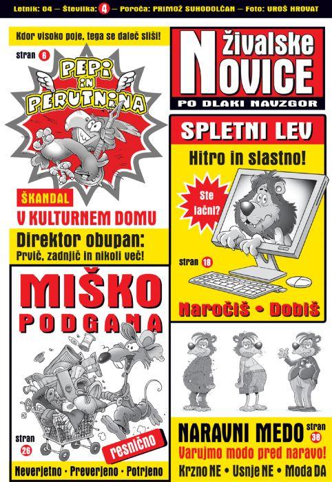 Primož Suhodolčan: Živalske novice 4 - Po dlaki navzgor