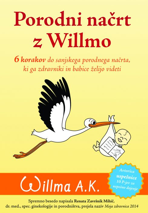 Willma A.K.: Porodni načrt z Willmo
